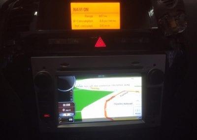 Τοποθέτηση οθόνης GPS sese OPEL ZAFIRA