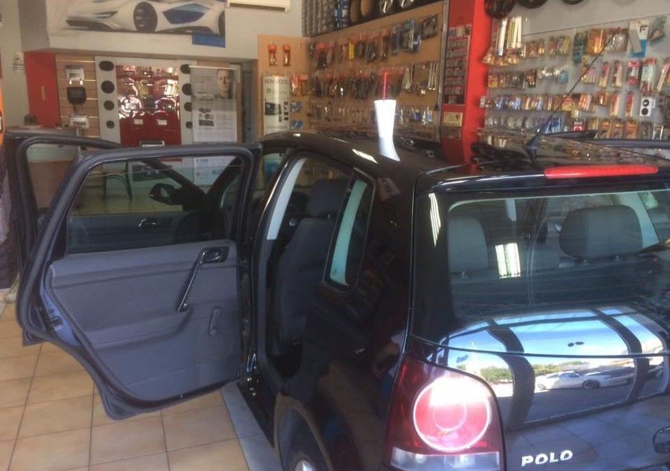 Αντιηλιακές μεμβράνες 30% σε VW POLO