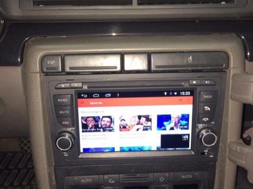 Τοποθέτηση από 1din se 2din android, Audi A4