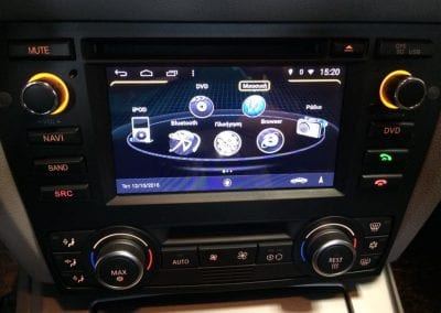 Τοποθέτηση Android σε BMW E90