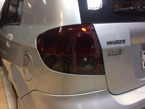Βαφή φαναριών σε Hyundai Getz
